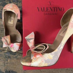 Valentino heels and box!